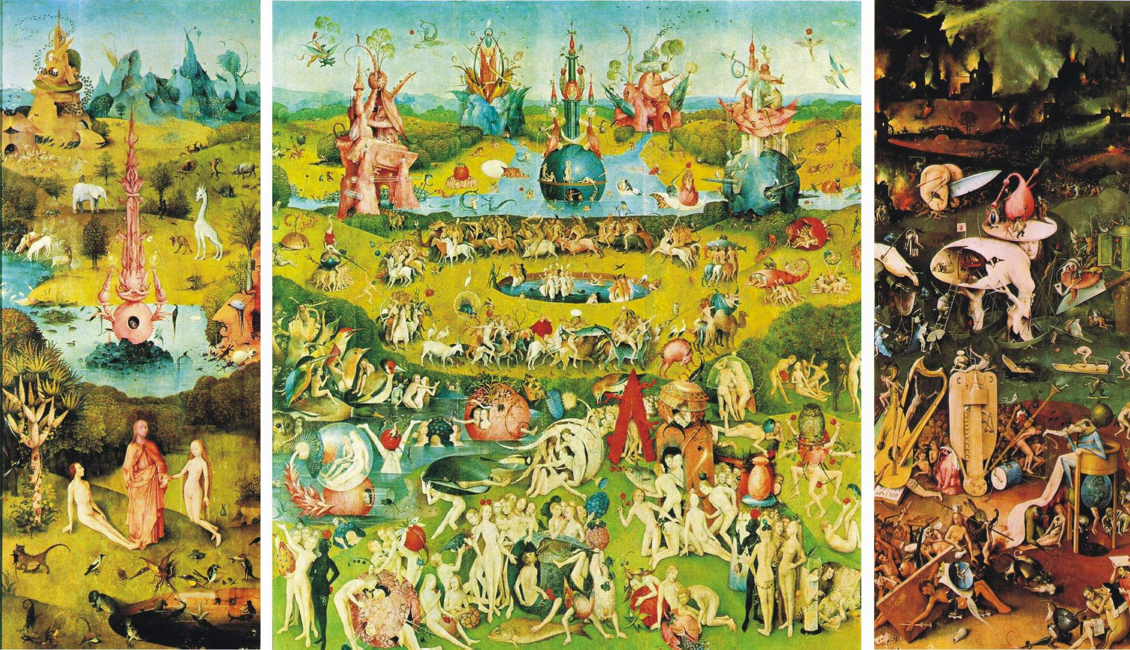 Human artistic vision ahead of time dangdzung21stem for The garden of earthly delights